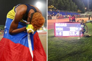 ¡UNA DURA! Yulimar Rojas logra el segundo mejor registro de la historia en salto triple con sus 15,41 metros (+Videos)