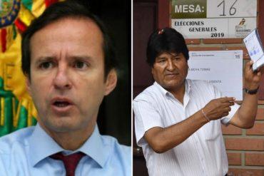 ¡DEBE SABER! La advertencia de Tuto Quiroga: Evo Morales se quiere robar la presidencia ante los ojos de la OEA (+Video)
