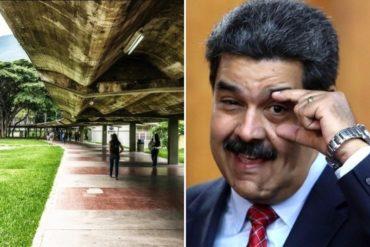 """¡SEPA! Maduro aprobó recursos para """"embellecer"""" a la Ciudad Universitaria de Caracas"""