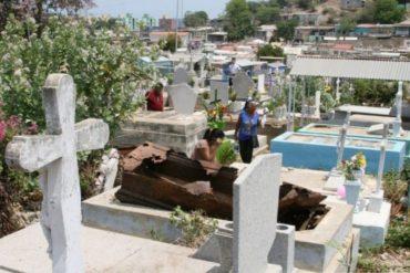 ¡NO RESPETAN NADA! Profanan tumbas en Carabobo para robarse los dientes de oro y pertenencias con los que son enterrados los cadáveres