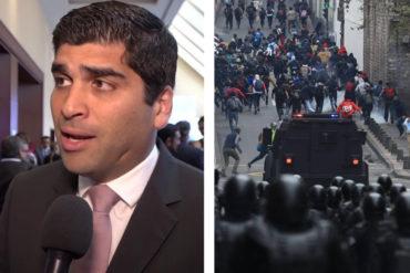 ¡ENTÉRESE! La cifra en dólares que recibirían los infiltrados extranjeros en las protestas de Ecuador (+Video)
