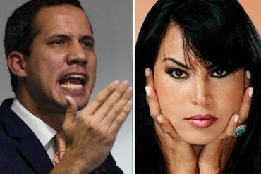 """¡CANDELA! El """"agarrón"""" entre Juan Guaidó y Liliana Morillo que sacudió el Instagram (+Imagen)"""