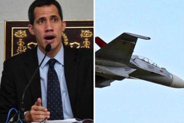 """¡ASÍ LO DIJO! Guaidó tras accidente del Sukhoi: """"¿Cuántos oficiales muertos suman las fallas de mantenimiento?"""""""