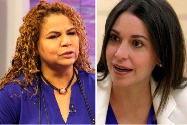 """¡SE EXCEDIÓ! """"Le cayó bótox en el cerebro"""": El comentario de Iris Varela contra Machado por responsabilizar a Maduro de violencia en la región"""
