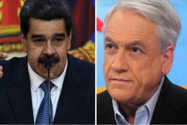 ¡AY, POR FAVOR! Un Maduro descarado se queja porque le echan la culpa de protestas violentas en Chile (Compara a Piñera con Pinochet +Video)
