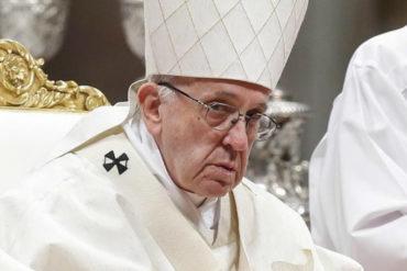 ¡SEPA! El Papa pidió soluciones inmediatas para dar ayuda internacional a la población que sufre en Venezuela