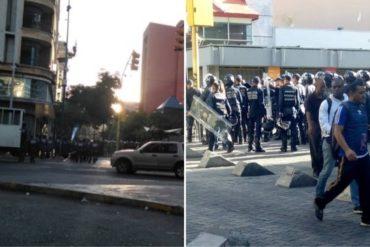 ¡ATENCIÓN! Fuerzas represoras del régimen se encuentran desplegadas en varios puntos de Caracas este #16Nov (+Equipos antimotín)