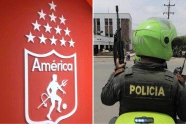 ¡BOCHORNOSO! Hinchas del América de Cali tuvieron violenta pelea con venezolanos en Colombia (Terminó con disparos y heridos)