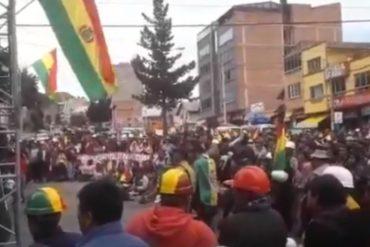 ¡VÉALO! El cabildo masivo que realizaron en Bolivia para exigir la renuncia de Evo Morales (+Video)