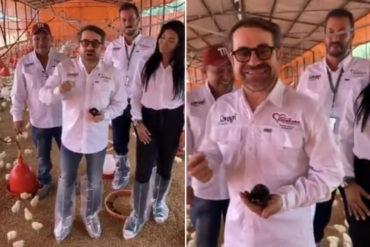 """¡VEA! Los """"DracuPollos"""", el nuevo invento de Lacava para paliar el hambre en Carabobo (+Video)"""