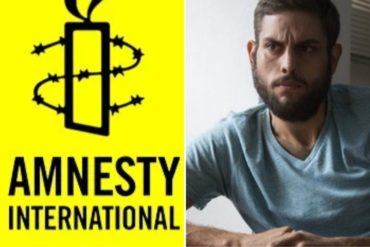 ¡IMPORTANTE! Amnistía Internacional lanza acción mundial para libertad de Juan Requesens