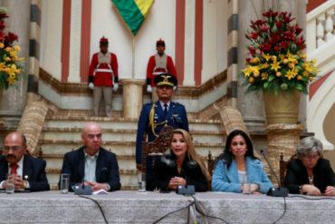 ¡NO COMEN CUENTOS! Gobierno interino de Bolivia anuncia ruptura de relaciones con régimen de Maduro