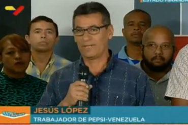 """¡ATENCIÓN! Trabajadores de Pepsi denuncian que les aplicaron una """"suspensión indefinida""""  (+Video)"""