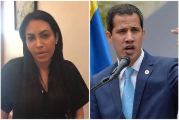 """¡BIEN CLARA! Delsa Solórzano ratificó apoyo a Guaidó para que presida la nueva junta directiva de la AN: """"La Operación Alacrán no funcionó"""" (+Video)"""