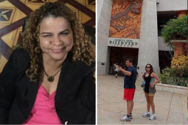 """¡RECORDAR ES VIVIR! cuando Iris Varela se paseaba por este reconocido parque de diversión en el """"imperio"""" (Ahora recrimina a quienes tengan visa de EEUU)"""