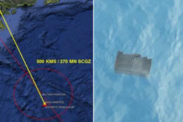 ¡LE MOSTRAMOS! Hallan piezas del avión chileno desaparecido en el mar de Drake (También encuentran restos humanos) (+Fotos)