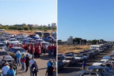¡ENTÉRESE! Transportistas de Maracaibo protestan este #9Ene contra el plan para surtir gasolina (+Fotos +Video)