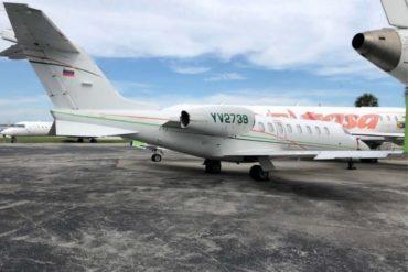 ¡LO ÚLTIMO! Tesoro impuso sanciones contra 15 aviones vinculados a Maduro y que han tratado de interferir aviones de EEUU