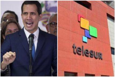 """¡ENTÉRESE! «Claramente no entiende»: Lo que respondió la presidente de Telesur a Guaidó sobre el """"rescate"""" del canal (+Comunicado)"""