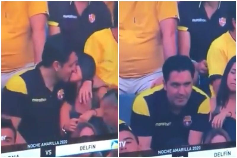 ¡TIEMBLA, TIERRA! El momento más incómodo en la Kiss Cam: captaron una infidelidad en plena transmisión en vivo y se hizo viral (+Video)
