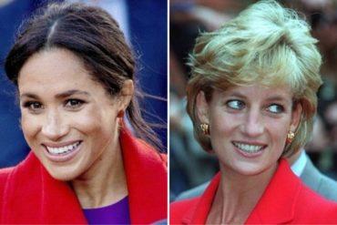 ¡SEPA! La supuesta similitud de Meghan Markle con Diana de Gales que incomoda a la corona británica