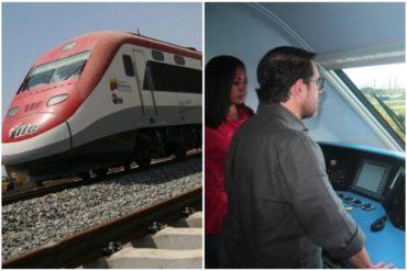 ¡UNA BURLA! Ferrocarril de Guacara está paralizado, aunque Lacava lo inauguró en julio de 2019 (No duró ni seis meses) (+Video)