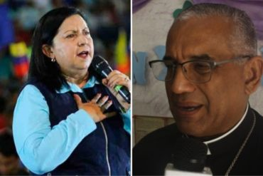 """¡AY, PAPÁ! La picada respuesta de Carmen Meléndez a monseñor Basabe luego que lanzara duras críticas contra los """"mercaderes de la política"""""""