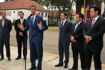 ¡VEA! Llamado a aumentar la presión y a ejecutar acciones: Las propuestas que hará Guaidó a los aliados durante su gira