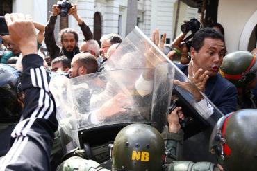 ¡INDIGNADOS! Amnistía Internacional condena graves ataques a miembros de la Asamblea Nacional