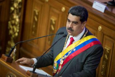 """¡MUY CONFIADO! Maduro dice que """"no le importa"""" la sanciones de EEUU y la UE: """"No van a detenernos, ni a Venezuela"""""""