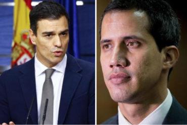 ¡MEDIO INDECISOS! Gobierno español rectifica y aclara que sigue reconociendo a Guaidó como presidente encargado