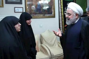 ¡DE TERROR! «Vengaremos su sangre entre todos»: La temible promesa del presidente de Irán a familia del general Soleimani (+Video)