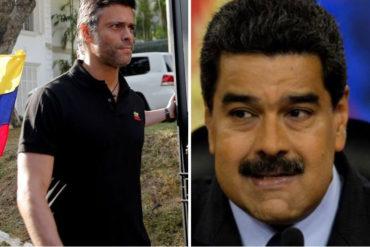 ¡TAJANTE! Leopoldo López: El mundo democrático está claro que los narcotraficantes no representan a los venezolanos