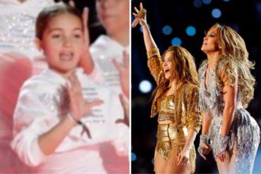 ¡MÍRELA! La niña venezolana que se lució en el impactante show de Shakira y JLo en el medio tiempo del Super Bowl (+Video)