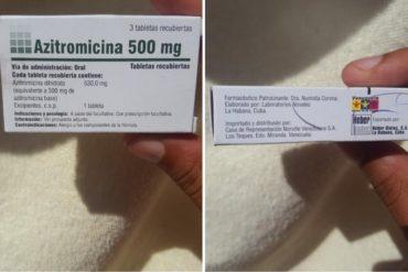 ¡INSÓLITO! Venezuela estaría donando a Cuba medicamentos comprados al gobierno de La Habana (+Pruebas)
