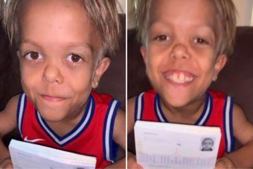 ¡ENTÉRESE! Revelan la verdadera edad de Quaden Bayles, el niño que se hizo viral (+Video con la prueba)
