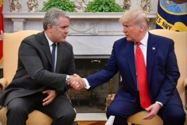 """¡ENFÁTICO! Duque a periodistas en la Casa Blanca: """"El reto más grande que tenemos en América Latina es una rápida transición en Venezuela"""" (+Video)"""