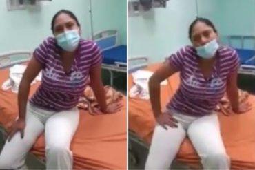¡EN EL ABANDONO ABSOLUTO! El duro testimonio de enfermera en Guatire con síntomas de Covid-19: No hay insumos para hacerle rayos X y pruebas de laboratorio en el hospital (+Video)