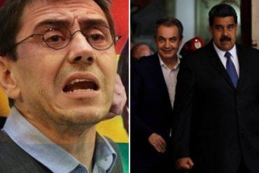 ¡QUÉ FUERTE! Medio español asegura que EEUU estudia emitir órdenes de captura contra Zapatero y Monedero por vínculos con Maduro
