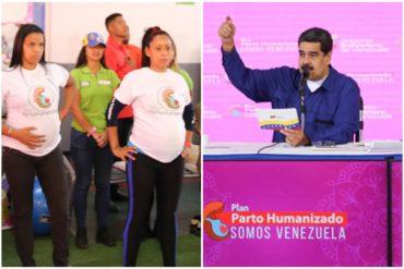 "¡ENLOQUECIÓ! Maduro manda a las mujeres a parir masivamente: «¡A parir, pues! ¡Todas las mujeres a tener 6 hijos!"" (+Video)"