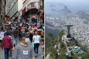¡ENTÉRESE! Río de Janeiro y Sao Paulo declaran el estado de emergencia por el coronavirus: Son los principales focos de contagio en el país (+Cifras)