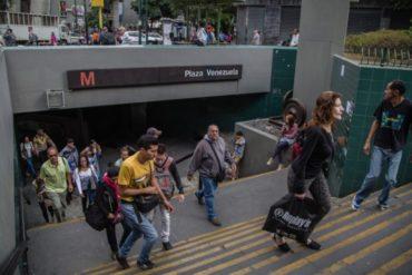 ¡LO ÚLTIMO! Cerradas estaciones de Plaza Venezuela y Sabana Grande del metro por falla eléctrica este #5Mar