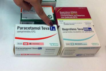¡PENDIENTES! OMS: Aún no hay evidencias que el ibuprofeno agrave la salud en pacientes con Covid-19 (Pero recomienda usar paracetamol)