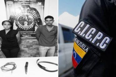 ¡SIN PALABRAS! Detenida pareja por torturar con descargas eléctricas a sus pequeños hijos (utilizaban un cuchillo metálico)