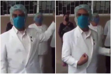 """¡DESGARRADOR! Médicos venezolanos luchan contra el coronavirus sin protección: """"Salimos con el corazón destrozado sin saber si nos llevamos el virus a casa"""" (+Video)"""