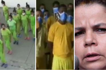 ¡AH, OK! Las pobres medidas de Iris Varela para evitar la propagación de coronavirus en los centros penitenciarios (+Video)