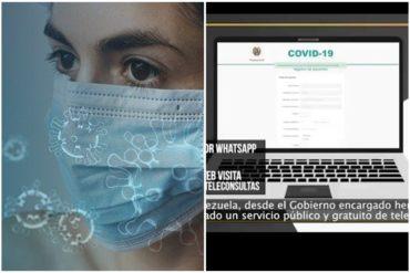 ¡IMPORTANTE SABER! Gobierno interino lanza herramienta para evaluación de  síntomas del coronavirus a distancia (+Video +Lo que debe hacer)