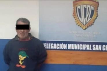 ¡DESVERGONZADO! Detienen a un hombre que era solicitado por abuso sexual en Táchira: estaba en un refugio pasando la cuarentena
