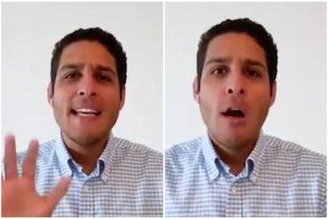 """¡PELIGROSO! Olivares dice que Maduro miente sobre situación de COVID-19 en Margarita: Afirma que hay más de 20 casos sospechosos y una """"transmisión nosocomial"""" (+Video)"""