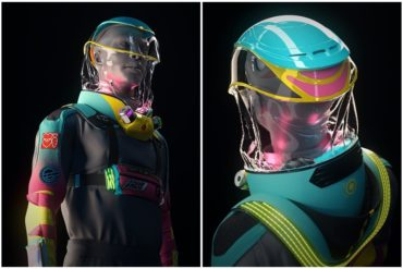 """¡INNOVADOR! """"Parece un traje de astronauta"""": El diseño para """"ir a la discoteca en tiempos de coronavirus"""" que propone empresa con sede en Los Ángeles y España (+Fotos +Videos)"""